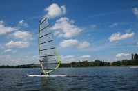 Windsurfen am Waginger See